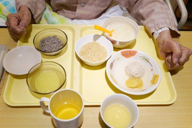 老人ホームの食事のいろいろ。きざみ食やソフト食です